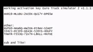 100 Euro Truck Simulator 2 Key Simulator Activation Key Codes YouTube