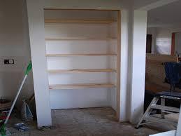 building wood shelves in a closet mpfmpf com almirah beds