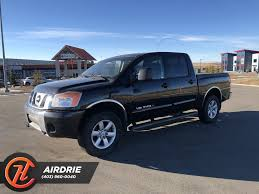 100 Nissan Titan Truck PreOwned 2011 SV In Airdrie 1120A House Of
