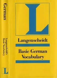 basic german vocabulary langenscheidt reference pdf free