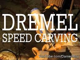 dremel stylus speed carving wood rose time lapse youtube