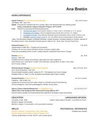 Resume — Ana Bretón Freelance Translator Resume Samples And Templates Visualcv Blog Ingrid French Management Scholarship Template Complete Guide 20 Examples French Example Fresh Translate Cv From English To Hostess Sample Expert Writing Tips Genius Curriculum Vitae Jeanmarc Imele 15 Rumes Center For Career Professional Development Quackenbush Resume As A Second Or Foreign Language Formal Letter Format Layout Tutor Cover Letter Schgen Visa Application The French Prmie Cv Vs American Rsum Wikipedia