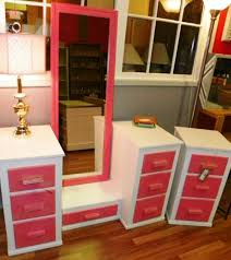 Bedroom Vanity With Mirror Ikea by Furniture Let It Realize Your Princess Dream With Pretty Makeup