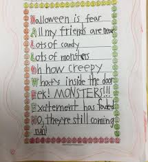 Halloween Acrostic Poem Words by Coffee From The Desk Of Mr Brown