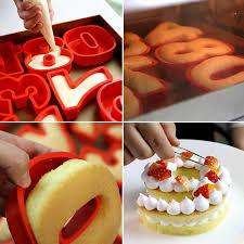 4 zoll diy anzahl kuchen silikon formen hochzeit geburtstag backen gebäck süßwaren zubehör kuchen form dekorieren werkzeuge