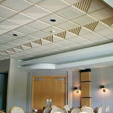 Soundproof Drop Ceiling Home Depot by Decorative Acoustic Drop Ceiling Tiles Sound Absorbing Wall Decor