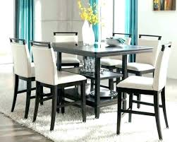 High Top Dining Table Set Counter Room Sets Incredible Height Beautiful Chair Furniture