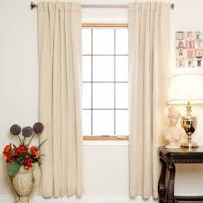 Absolute Zero Curtains Canada by Absolute Zero Solid Blackout Thermal Rod Pocket Single Curtain