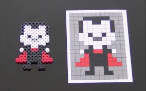 Halloween Perler Bead Patterns by How To Make A Cute Perler Bead Vampire Youtube