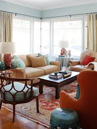 Warm Colors For A Living Room by Design Ideas For A Red Living Room Better Homes And Gardens
