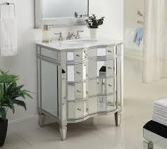Bathroom Vanities 42 Inches Wide by Wood And Mirrored Bathroom Vanity Doherty House Beautiful