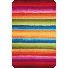 meusch badteppich funky multicolor 60 cm x 90 cm
