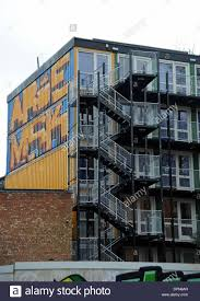 100 Shipping Containers Converted Container Living Brighton And Home Stock