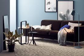 wohnzimmer mit hellblauer wandfarbe bild 14 schöner wohnen