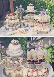 Vintage Anthropologie Themed Wedding Cupcake TableVintage
