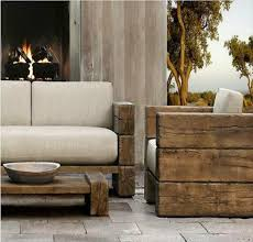 Best Modern Rustic Outdoor Furniture Wooden
