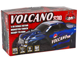 Volcano S30 1/10 RTR 4WD Nitro Monster Truck By Redcat ... Redcat Racing Volcano Epx Volcanoep94111rb24 Rc Car Truck Pro 110 Scale Brushless Electric With 24ghz Portfolio Theory11 Rtr 4wd Monster Rd Truggy Big Size 112 Off Road Products Volcano Scale Electric Monster Truck Race Silver The Sealed Bearing Kit Redcat Lego City Explorers Exploration 60121 1500