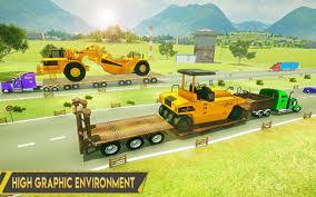 100 Construction Trucks Heavy Excavator Transporter For