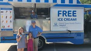 100 North Texas Truck You Screamed FREE ICE CREAM And Were Bringing It To You All