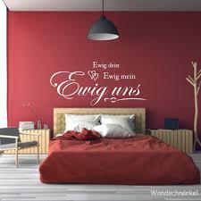 wandtattoo schlafzimmer spruch personalisiert namen ewig