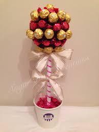 Ferrero Rocher Christmas Tree Diy by Ferrero Rocher U0026 Raspberry Ruffle Sweet Tree Sweet Trees