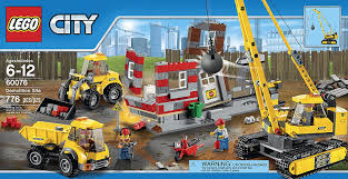 Amazon.com: LEGO City Demolition Site (60076): Toys & Games