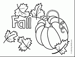 Remarkable Printable Fall Coloring Pages With For Adults And