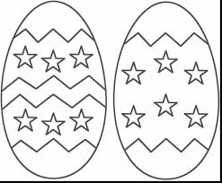 Unbelievable Easter Egg Coloring Pages With Happy And Printable