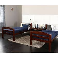 Bed Frames In Walmart walker edison twin over twin wood bunk bed multiple colors
