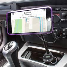 iPhone 6 6 Plus Car Holder Charger & FM Transmitter