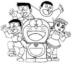 Download All Characters Doraemon Coloring Pages Or Print