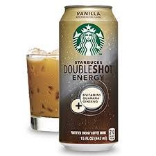 Starbucks Doubleshot Energy Vanilla Drink 15 Oz Cans