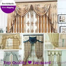 Ebay Curtains With Pelmets Ready Made by Teal Blue Mocha Gold Beige Swags Pelmets Valance Drapes Sheer