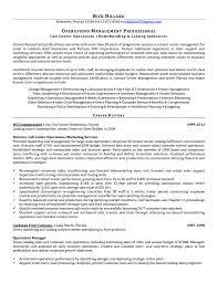 Resume For Cover Letter Call Center Supervisor New Job Description Sample