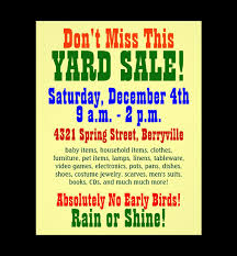 Free Yard Sale Flyer Template 20 Best Templates Psd Designs Premium