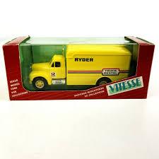 100 Ryder Truck Rental Atlanta Vitesse 433 195459 Mack BSeries Yellow 143 Scale Diecast