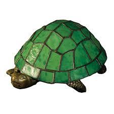 Tiffany Style Lamp Shades by Shop Meyda Tiffany Turtle 4 In Tiffany Style Standard Indoor Table