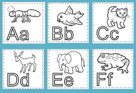 Animal Alphabet Coloring Printables 13 Classroom Quilt Pages