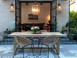Los Angeles Dining Furniture Patio Mediterranean With Glass Doors Traditional Outdoor Wall Lanterns French
