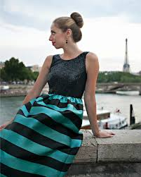 Pink Sequins Stripes Anthropologie PB In Paris Christian Loubboutin