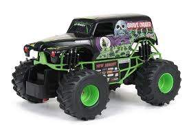 Remote Control Vehicle Monster Jam Grave Digger Truck Outdoor Toys ... Grave Digger Rhodes 42017 Pro Mod Trigger King Rc Radio Amazoncom New Bright Ff Monster Jam Car 115 Terrific Power Wheels Traxxas 116 Nitro 18 Monster Truck Groups Everybodys Scalin For The Weekend Mud Rc Truck Ardiafm Grave Digger 4x4 Race Racing Monstertruck Fs Hot Shop Cars Show Scale Playtime Toy Trucks 360 Spin Remote Control 30th Anniversary Rcnewzcom
