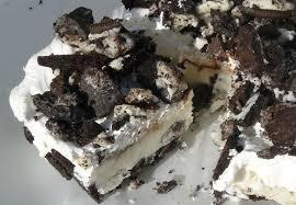Nut Free Oreo Cookie Ice Cream Cake Peanut Allergy Mom