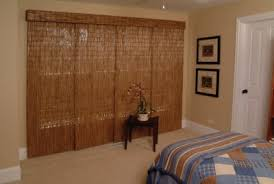 Sliding Panels With A Rustic Look Adding Window Treatments