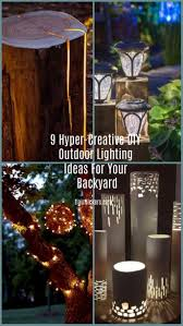 Outdoor Wedding Lighting Without Electricity Designs