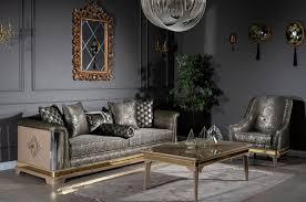 casa padrino luxus deco wohnzimmer sessel silber schwarz beige gold 80 x 83 x h 97 cm deco wohnzimmer möbel