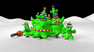 Making Of Nickelodeon Crazy Christmas Tree 1