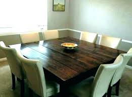 Square Dining Tables That Seat 8 Seating Chair Table