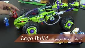 100 Fangpyre Truck Ambush Lets Build Lego Ninjago Set 9445 Part 2