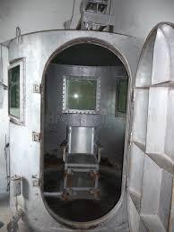 chambre a gaz vieille chambre à gaz image stock image du prison 45953689