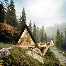 100 Houses In Nature Enjoy On Twitter Cabin Or Houses In A